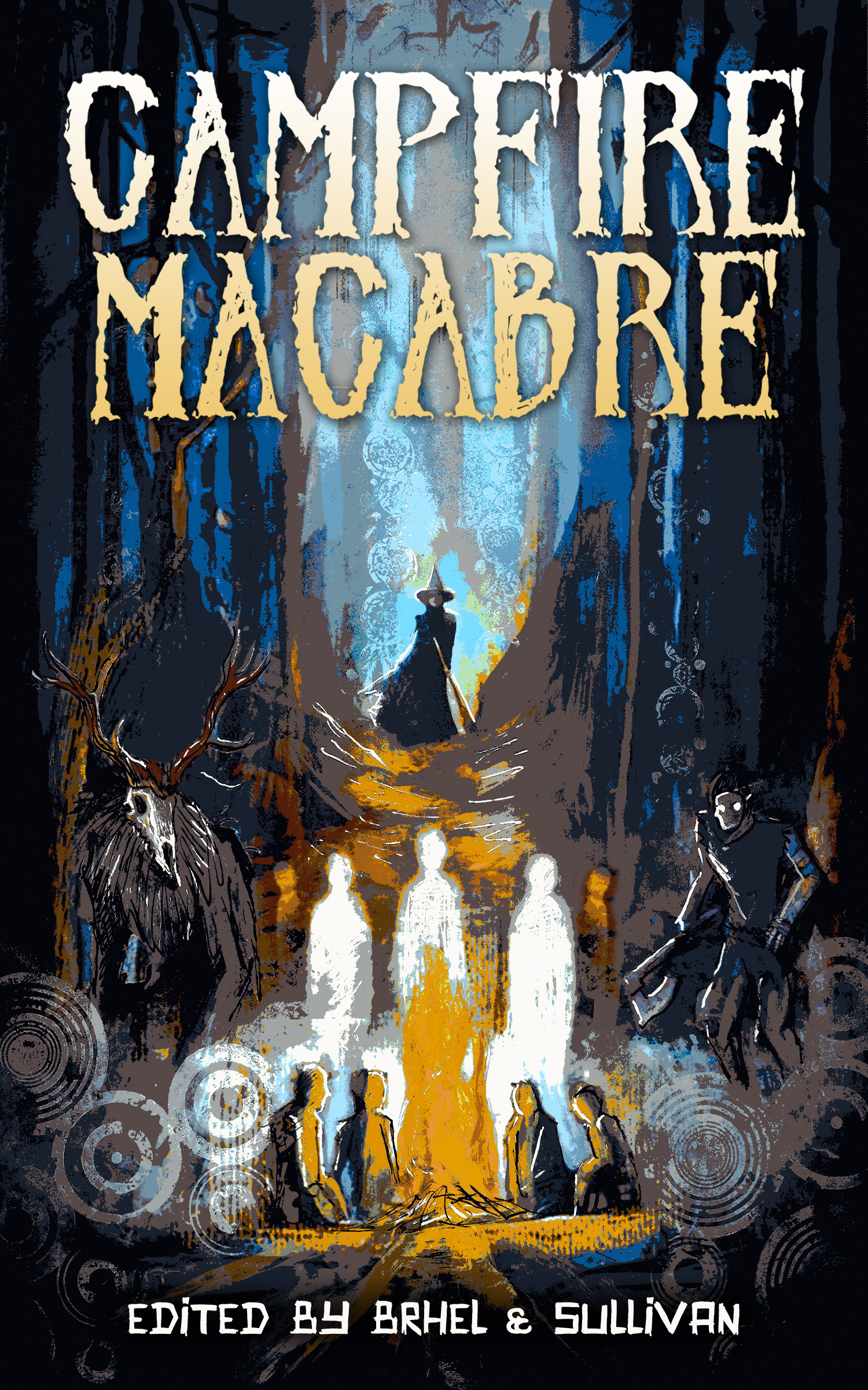 Campfire Macabre front art with text