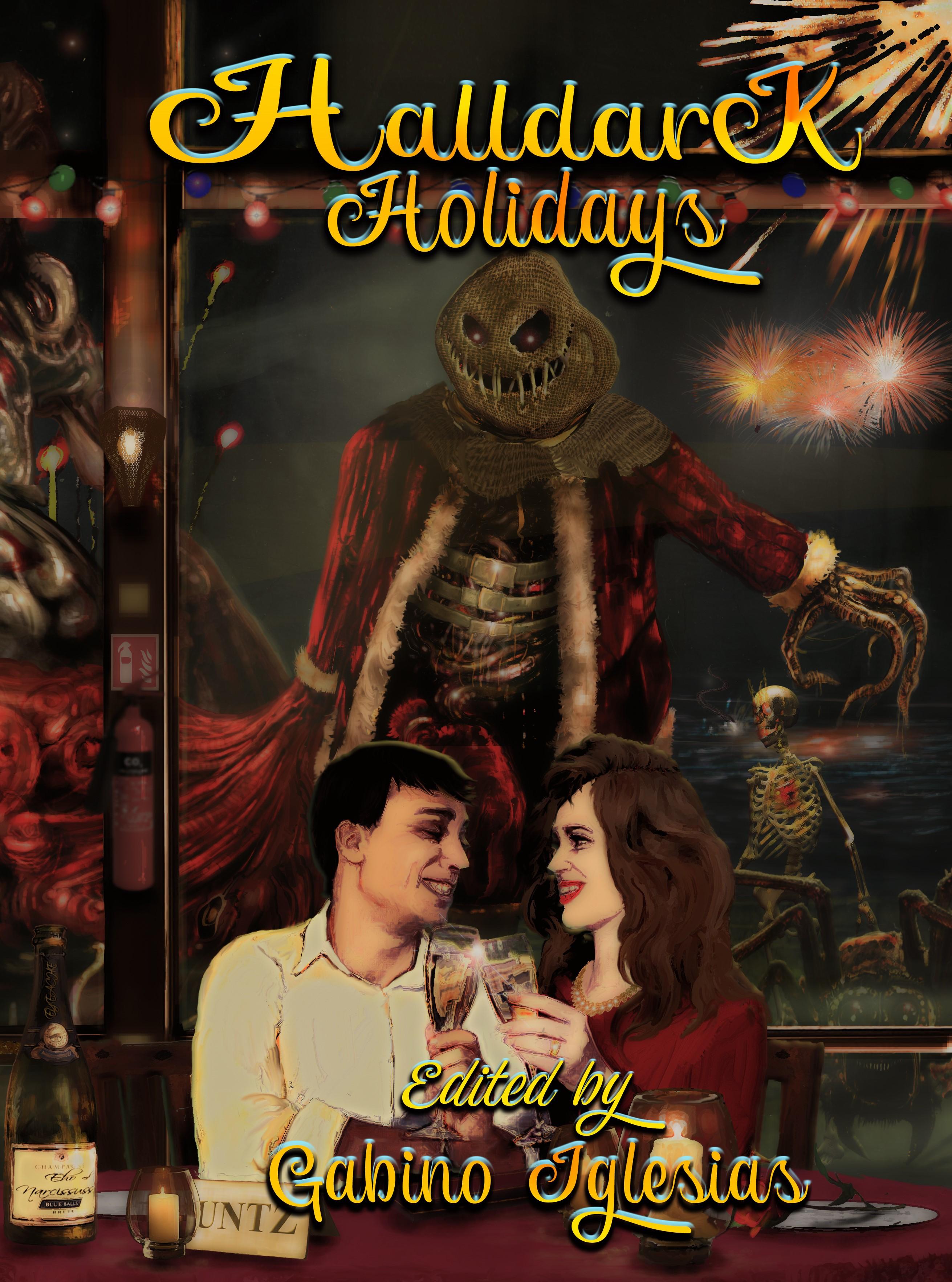 Halldark Holidays ebook Cover